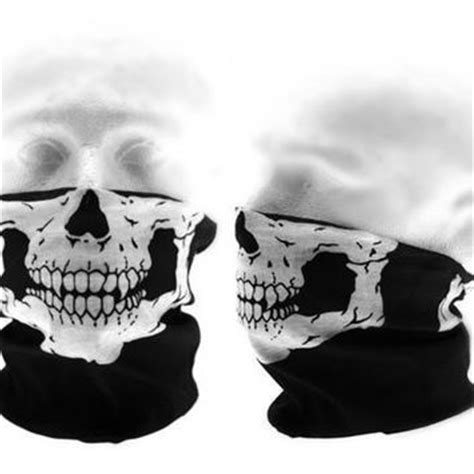Masker Buff Call Of Duty skull mask bandana motorcycle scarf from steelproduction on