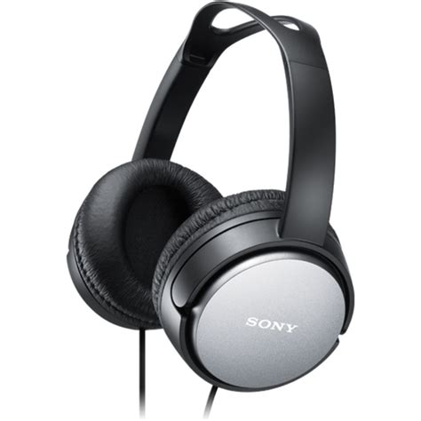Headset Sony Sony Mdr Xd150 Home Theater Headphones Black Mdrxd150bk B H