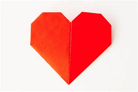Easy Origami Hearts - easy origami all for the boys