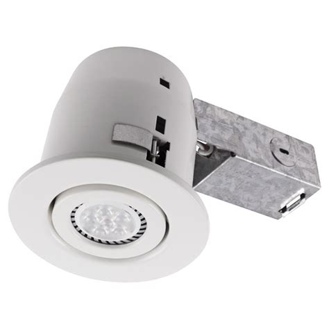 led recessed lighting insulated ceiling bazz 4 5 in