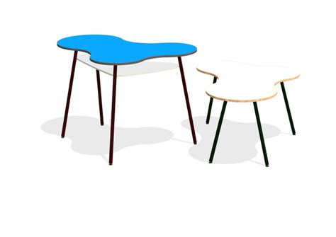 Reception Armchairs 187 Puzzle Table