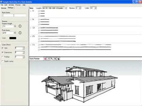 layout sketchup style builder google sketchup style builder youtube