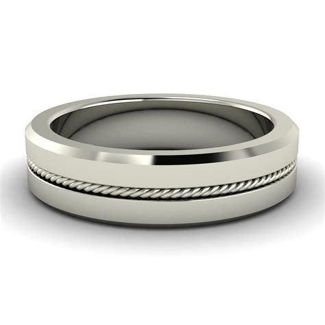 sterling silver comfort fit wedding bands sterling silver 6 0mm comfort fit men s wedding band fine