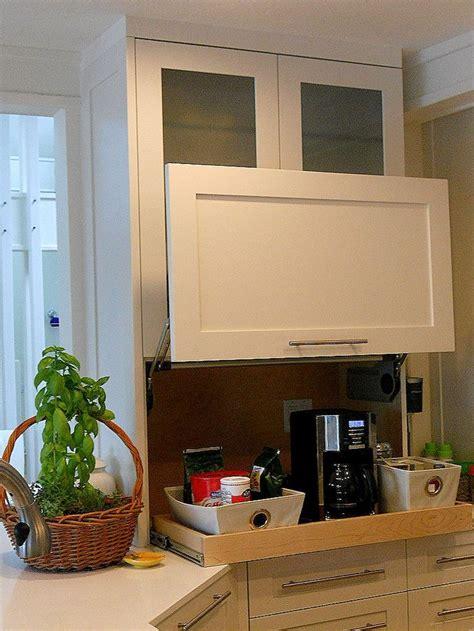 kitchen garage cabinets 25 best ideas about appliance garage on pinterest