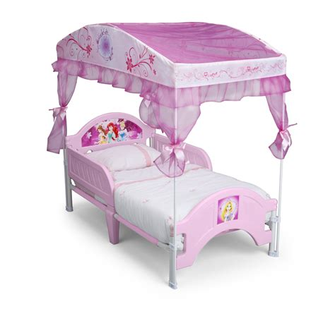 toddler canopy bed delta children disney princess canopy toddler bed baby