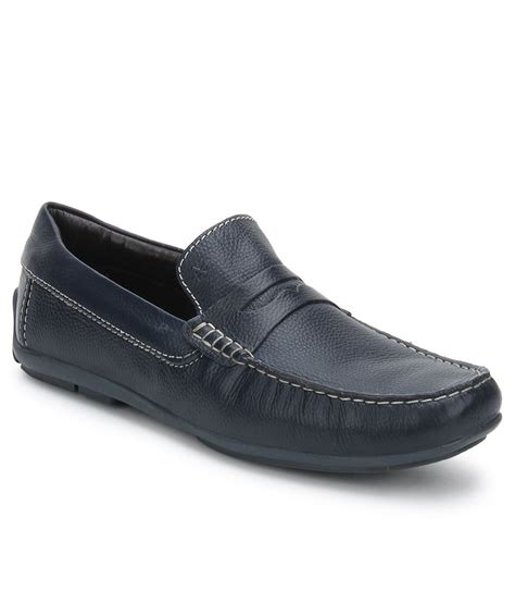 navy loafer arrow navy loafers price in india buy arrow navy loafers
