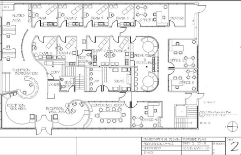 pediatric office floor plans pediatric office floor plan by sherri vest at coroflot com