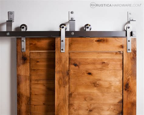 Bypass Barn Door Hardware (Standard)   Modern   Barn Door