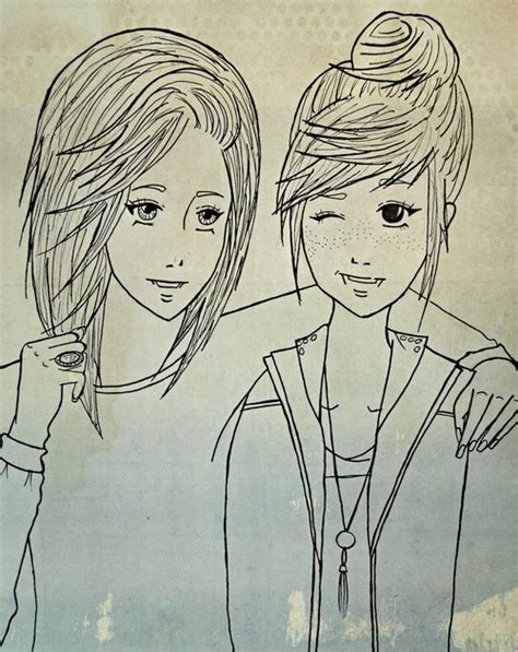 art friendship picture more detailed picture about best a drawing of me and my bestfriend on we heart it