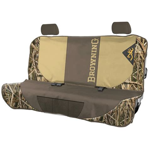 mossy oak bench seat cover browning bench seat cover 666219 pet accessories at