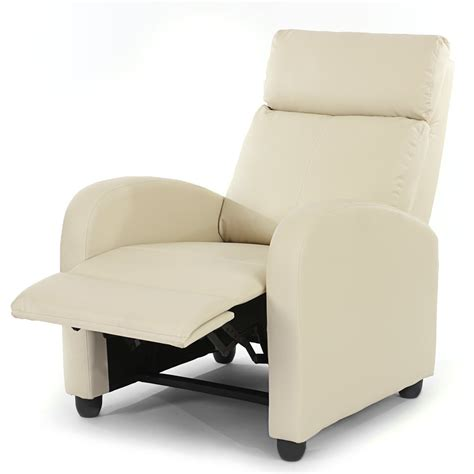 sillon reclinable sill 243 n relax reclinable denver en piel color crema