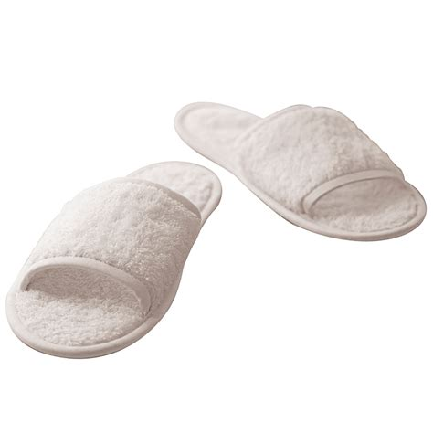 terry towel slippers towel city tc064 classic terry slippers open toed mule