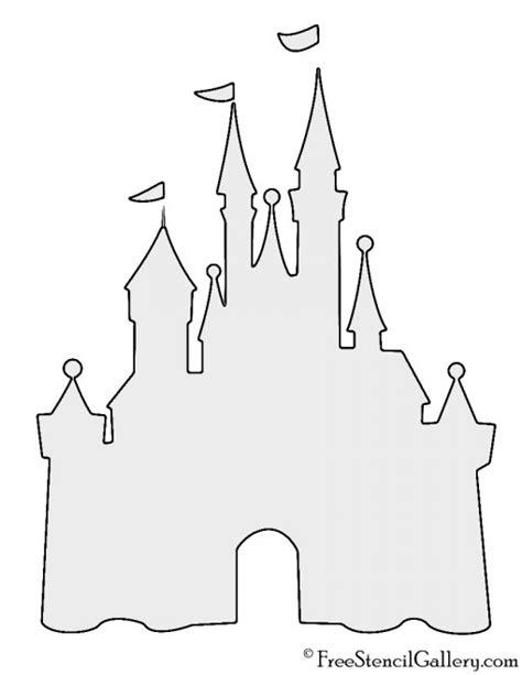 Free Disney Templates Disney Castle Stencil Free Stencil Gallery