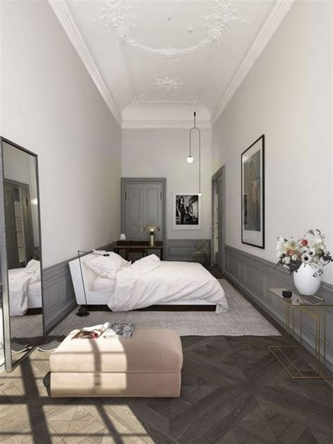 ideas  narrow bedroom  pinterest narrow