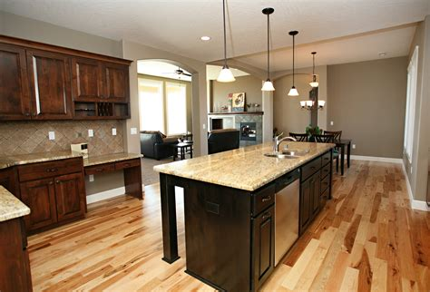 kitchen islands with posts affordable custom cabinets showroom