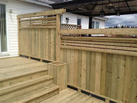 patio en bois patios multi paliers patio bois trait 233