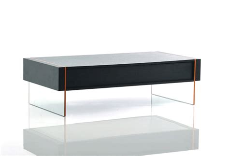 modern black oak floating coffee table vg67 contemporary