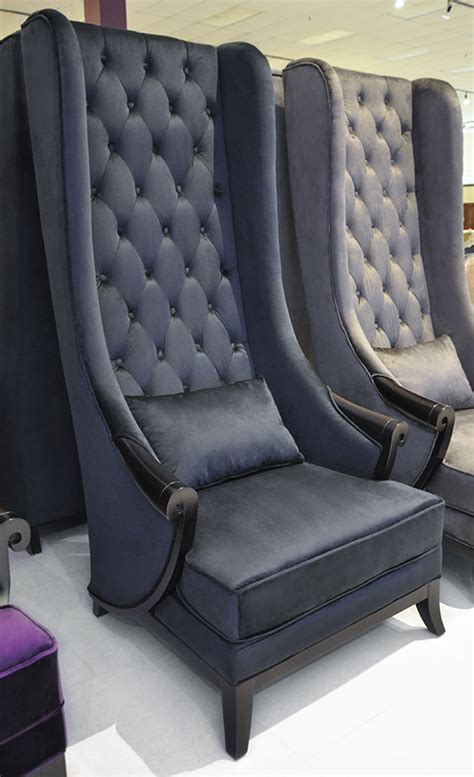Velvet High Back Chair by Product Printer Friendly Page
