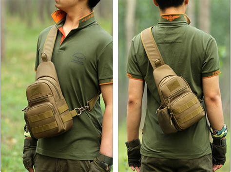 Tas Selempang Kulit Importslempang Etonslingbag Gadget Waterproof tas selempang minimalis tahan air desain militer black jakartanotebook
