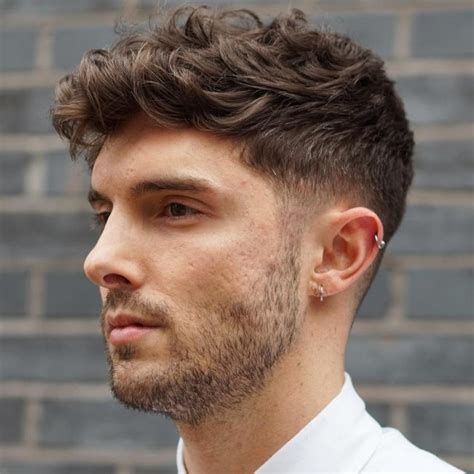 boys haircut styles long in front short in back 30 refined wavy and curly hairstyles for men the best