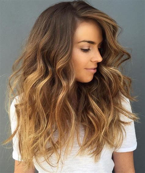 pics of blonde roots with brown on bottom the 30 hottest brunette best balayage highlights for