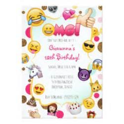 emoji birthday party gifts on zazzle