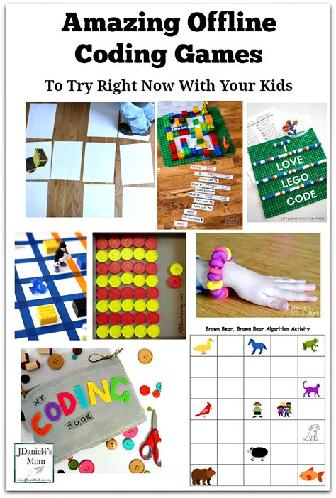 9 Activities To Try Today by Coding For Room Kid
