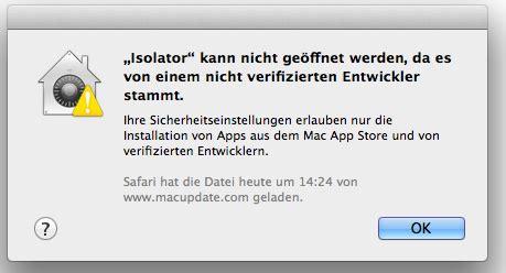 anleitung: gatekeeper und warnmeldungen am mac abschalten