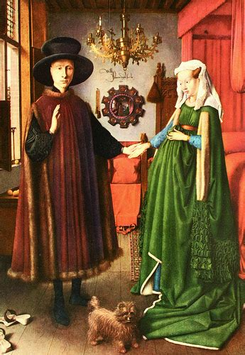 the arnolfini wedding portrait jan eyck s the arnolfini marriage mr burgher