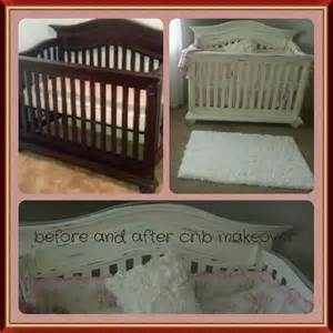 chalk paint crib makeover peanut 3