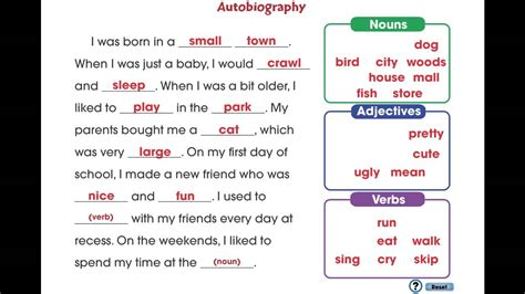 biography vs autobiography game cc7105 how to write a book report autobiography mini