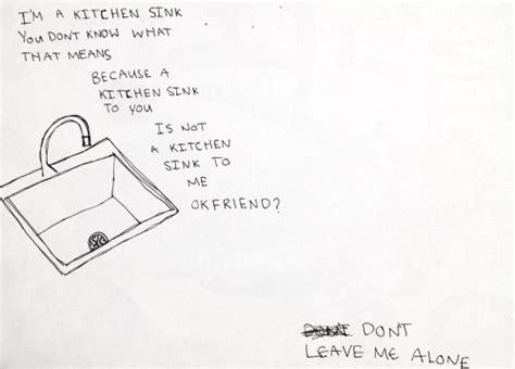 Kitchen Sink By Twenty One Pilots by Twenty One Pilots Kitchen Sink