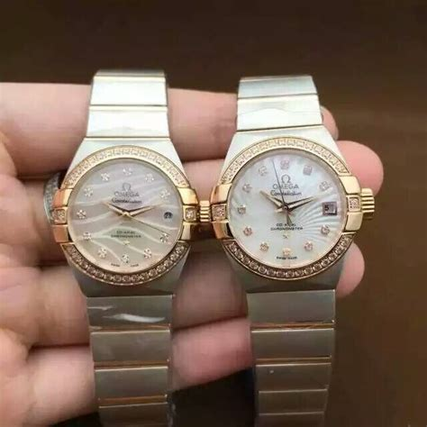 Replica Omega Constellation Women Watch Hands On