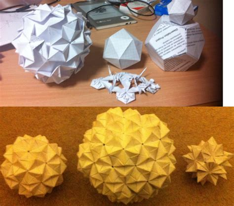 Virus Origami - virorigami modular origami viruses by antondevey on