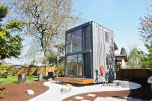 this tiny house rotates to catch the sun s rays curbed