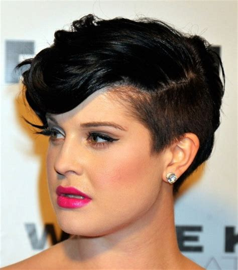 sided hair cuts to the back short shaved hairstyles for black women