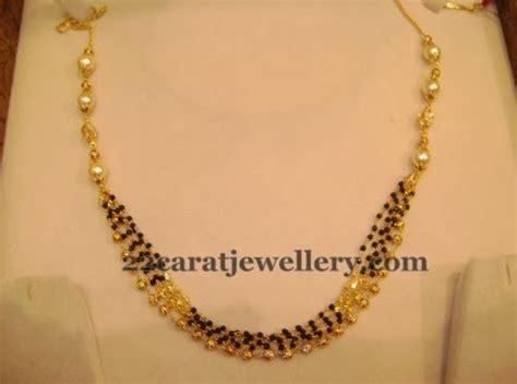 gms black beads sets gallery jewellery designs