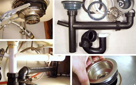 How To Remove A Kitchen Sink Drain How To Remove Fix A Kitchen Sink Drain Mobile Home Repair