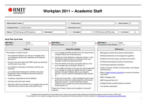 hr work plan template best photos of word work plan template work plan