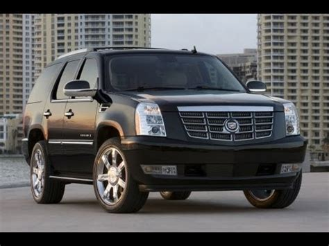 2013 cadillac escalade platinum start up and review 6.2 l