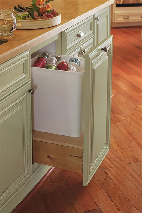 Waste Basket Cabinet by Base Waste Basket Cabinet Omega Cabinetry
