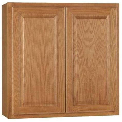 hton bay 30x30x12 in hton wall cabinet in medium