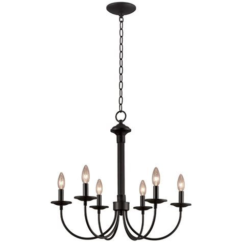 Simple Black Chandelier Designdreams By My Dining Room The Chandelier Chairs