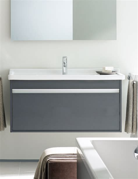 Duravit Bathroom Vanities Duravit Ketho 1200mm Vanity Unit With 1 Drawer And 1250mm Basin
