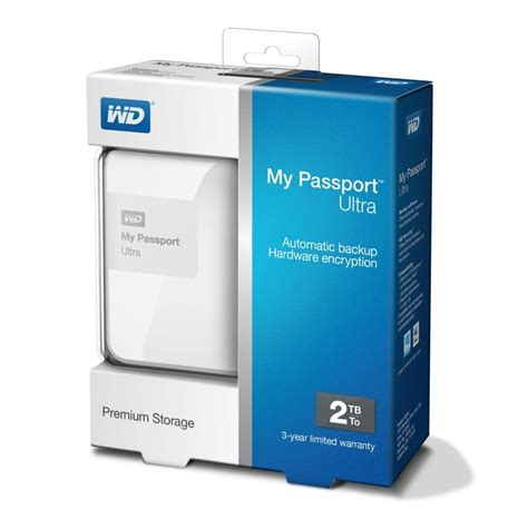 Harddisk External Wd My Passport 2tb wd my passport ultra 2tb brilliant white external drive ebuyer