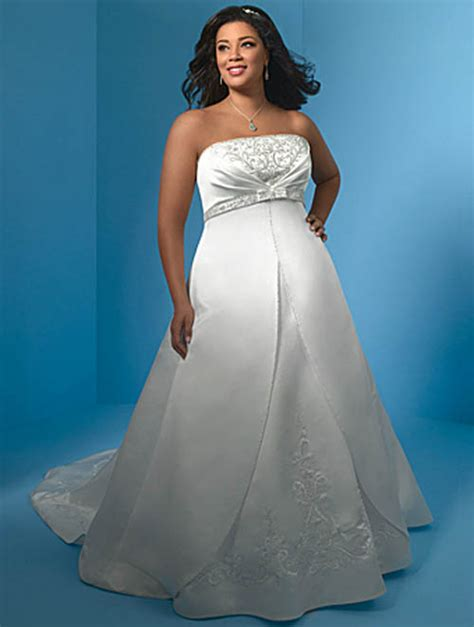 Cheap Plus Size Wedding Gowns   The Wedding Specialists