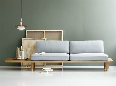 scandinavian style sofa scandinavian style international elegance plank sofa by dk3
