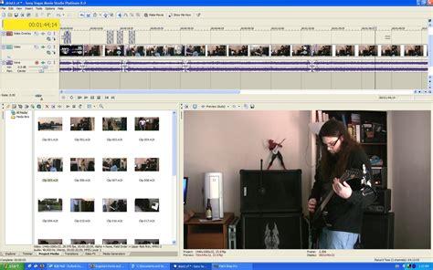 membuat opening video di vegas tutorial membuat efek slow motion efek video jadul vegas