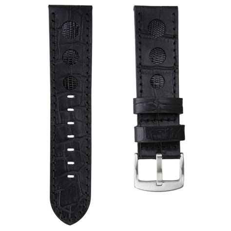 u boat watch strap genuine leather rally watch strap for u boat watches with