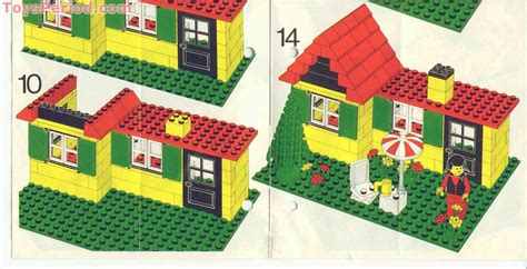 lego cottage lego 6365 summer cottage set parts inventory and